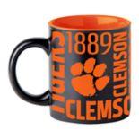 Boelter Clemson Tigers Matte Black Coffee Mug