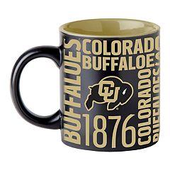 Boelter Colorado Buffaloes Matte Black Coffee Mug