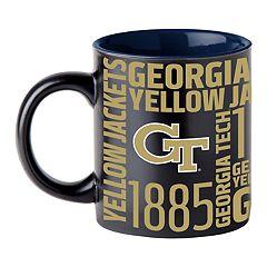 Boelter Georgia Tech Yellow Jackets Matte Black Coffee Mug