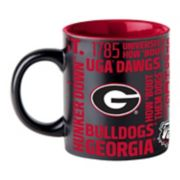 Boelter Georgia Bulldogs Matte Black Coffee Mug
