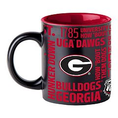 Boelter Georgia Bulldogs Matte Black Coffee Mug