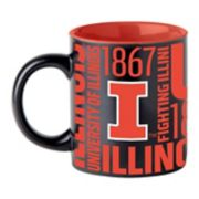 Boelter Illinois Fighting Illini Matte Black Coffee Mug