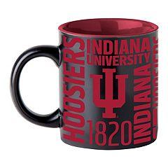 Boelter Indiana Hoosiers Matte Black Coffee Mug