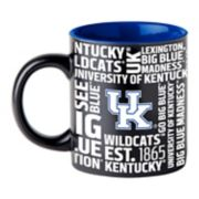 Boelter Kentucky Wildcats Matte Black Coffee Mug