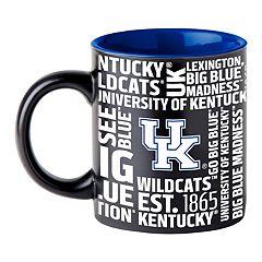 Boelter Kentucky Wildcats Matte Black Coffee Mug