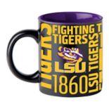 Boelter LSU Tigers Matte Black Coffee Mug