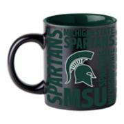 Boelter Michigan State Spartans Matte Black Coffee Mug