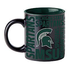 Boelter Michigan State Spartans Matte Black Coffee Mug