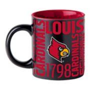 Boelter Louisville Cardinals Matte Black Coffee Mug