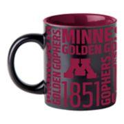 Boelter Minnesota Golden Gophers Matte Black Coffee Mug