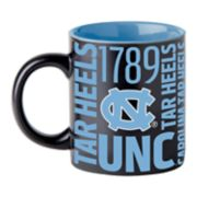 Boelter North Carolina Tar Heels Matte Black Coffee Mug
