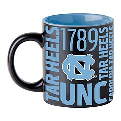 Boelter North Carolina Tar Heels Matte Black Coffee Mug