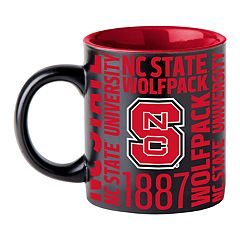 Boelter North Carolina State Wolfpack Matte Black Coffee Mug