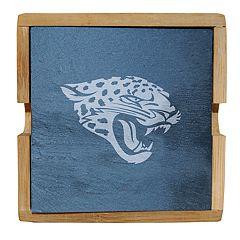 Jacksonville Jaguars Slate Coaster Set