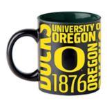 Boelter Oregon Ducks Matte Black Coffee Mug