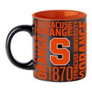 Boelter Syracuse Orange Matte Black Coffee Mug