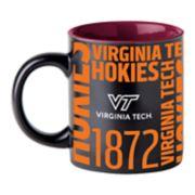 Boelter Virginia Tech Hokies Matte Black Coffee Mug