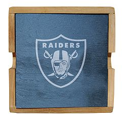 5a359ac8e7 Oakland Raiders Slate Coaster Set