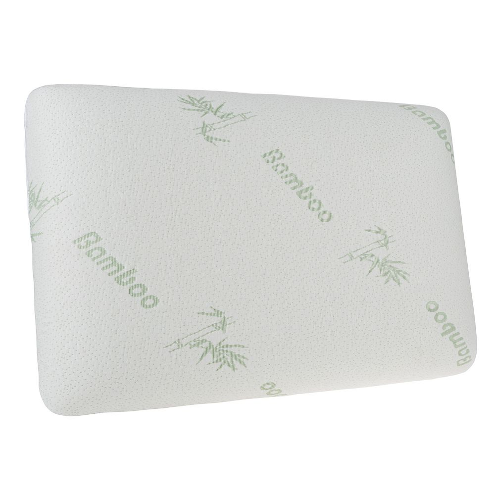 LHC Memory Foam Pillow with Removable Cover