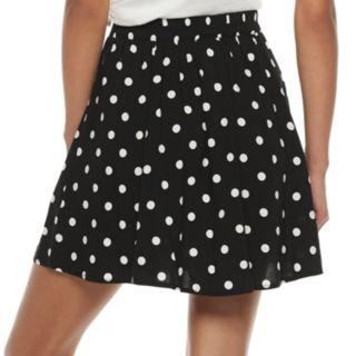 Juniors' Love, Fire Button Front Skirt
