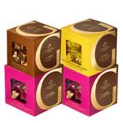 Godiva Chocolatier Milk Chocolate G Cube Sampler 4-Piece Gift Set