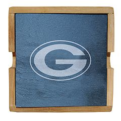 Green Bay Packers Slate Coaster Set