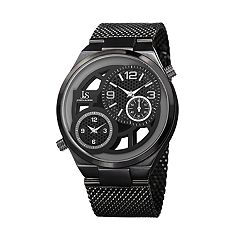 Joshua & Sons Men's Dual Time Watch