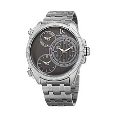 Joshua & Sons Men's Stainless Steel Chronograph Watch