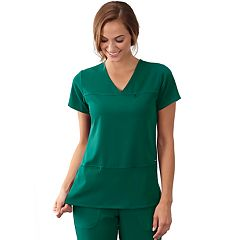 Women's Jockey Multi Pocket Scrub Top