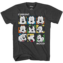 Boys Disney Mickey Mouse Grid Tee