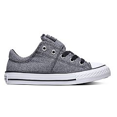 45e42c729ae Girls  Converse Chuck Taylor All Star Madison Sneakers. Black. sale