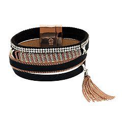 Jennifer Lopez Tassel Multi Row Bracelet