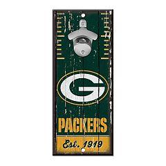 Green Bay Packers Wall-Mount Bottle Opener