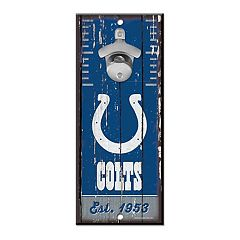 Indianapolis Colts Wall-Mount Bottle Opener