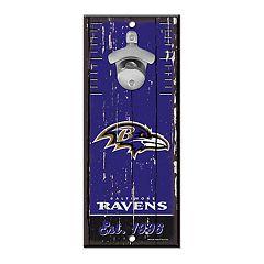Baltimore Ravens Wall-Mount Bottle Opener