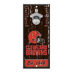 Cleveland Browns Wall-Mount Bottle Opener