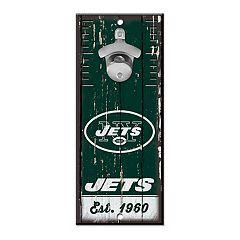 New York Jets Wall-Mount Bottle Opener