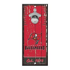 Tampa Bay Buccaneers Wall-Mount Bottle Opener