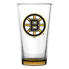 Boston Bruins Emblem Pint Glass