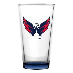 Washington Capitals Emblem Pint Glass
