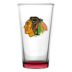 Chicago Blackhawks Emblem Pint Glass