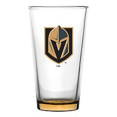 Vegas Golden Knights Emblem Pint Glass