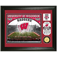 Highland Mint Wisconsin Badgers Stadium Framed Photo