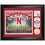 Highland Mint Nebraska Cornhuskers Stadium Framed Photo