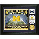 Highland Mint Michigan Wolverines Stadium Framed Photo