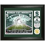Highland Mint Michigan State Spartans Stadium Framed Photo