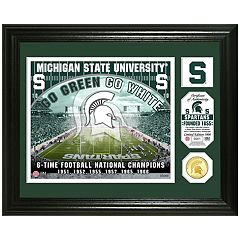 Highland Mint Michigan State Spartans Stadium Framed Photo