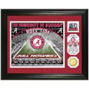 Highland Mint Alabama Crimson Tide Stadium Framed Photo