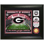 Highland Mint Georgia Bulldogs Stadium Framed Photo
