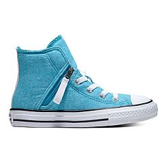 Girls' Converse Chuck Taylor All Star Pull-Zip High Top Shoes